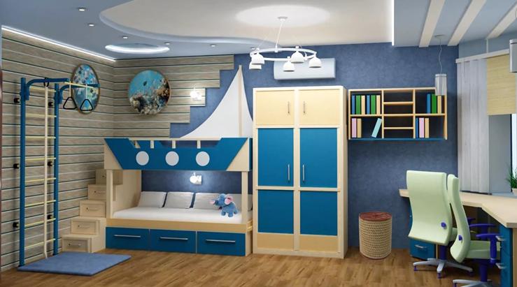 Детская комната для мальчика 1