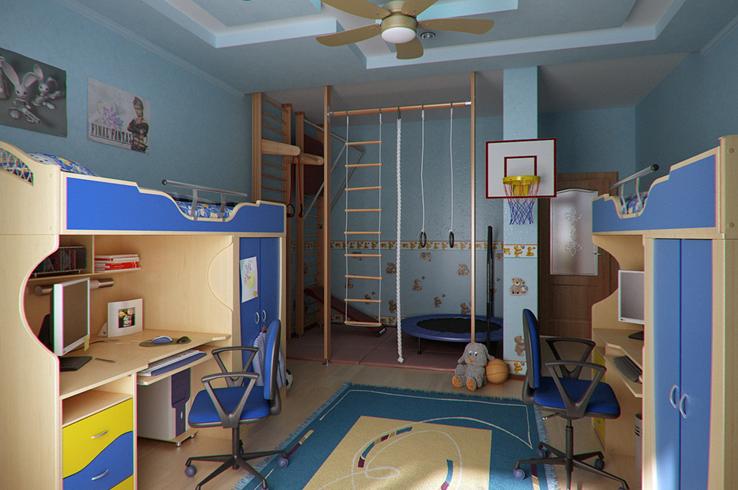 Детская комната для мальчика 3