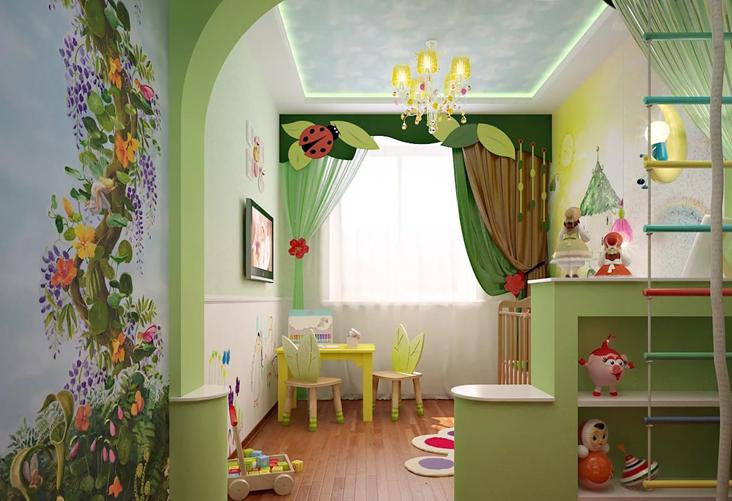 детская комната для девочки 2