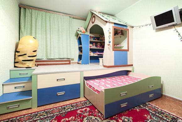 Дизайн детской комнаты, как его сделать?