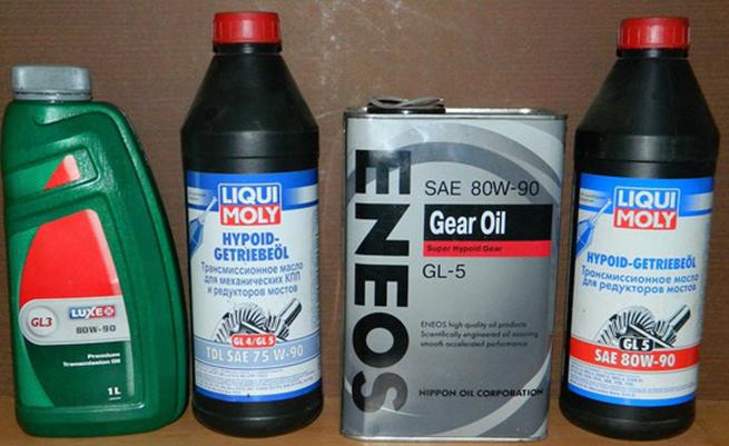 масло трансмиссионное 3